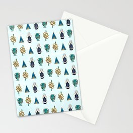 Ancient Symbols Pattern 1 Stationery Cards