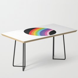 Circular Rainbow Coffee Table