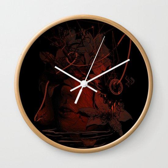The Lost Track II Wall Clock