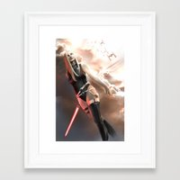 sith Framed Art Prints featuring Sith by R.Atkins