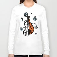 cello Long Sleeve T-shirts featuring Cello by Ewen Prigent