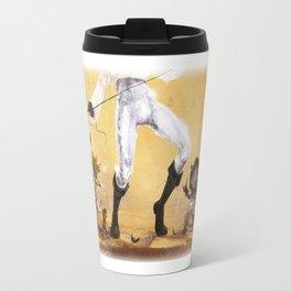 Glitter KARAOKE (Pants magic pants) Travel Mug