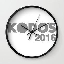 Vote for Kodos Wall Clock