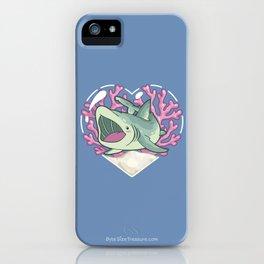 GULP, the Basking Shark iPhone Case