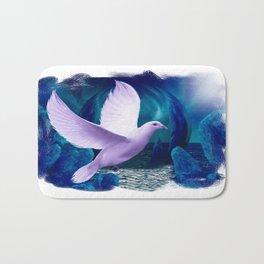 The Spiritual Realm - Dove Bath Mat