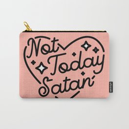 not today satan I Tasche