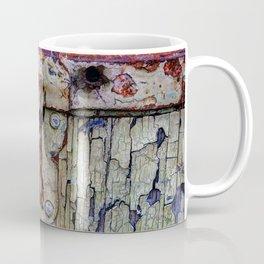 Cracked Vintage Paint Coffee Mug