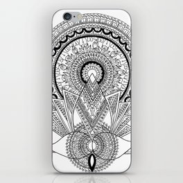 'Reborn' Lotus Mandala iPhone Skin