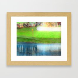 The Masters Golf - The Masters 16th Hole - Augusta National Framed Art Print