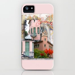 Gaudi Park Guell iPhone Case
