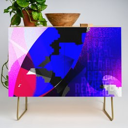 Graphic interpretation of the music Real Life by Kimbra Credenza