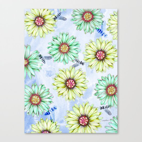 I'm an Early Bloomer Canvas Print