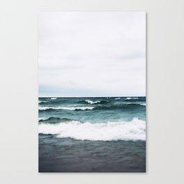 Turquoise Sea #3 Canvas Print