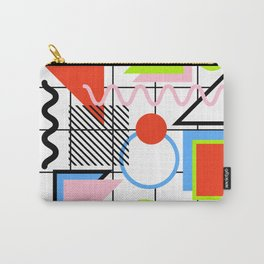 Circle Square Triangle Carry-All Pouch