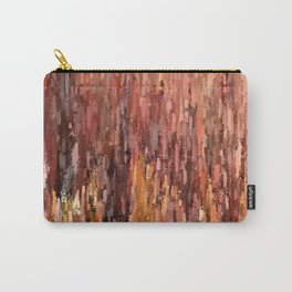 Red Brush Carry-All Pouch