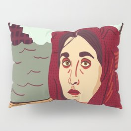 A Better Life, Italian Immigrant Woman Pillow Sham