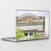 history Laptop & iPad Skins featuring History by Rachael Anthoney