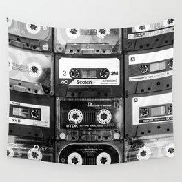 Something Nostalgic - black and white #decor #buyart #society6 Wall Tapestry