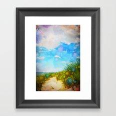 Ocean Dreams Framed Art Print