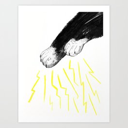 Magic Paws Art Print