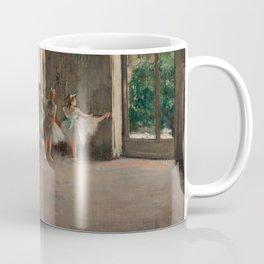 Classical Masterpiece 'The Ballet Rehearsal' by Edgar Degas Coffee Mug