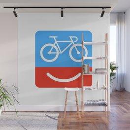 bicyclove Wall Mural
