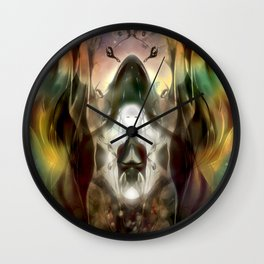 Silent Tranquility  Wall Clock