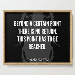 36   |  Franz Kafka Quotes | 190517 Serving Tray