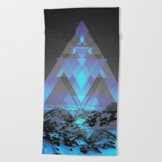 Neither Real Nor Imaginary Beach Towel