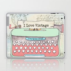 Typewriter #2 Laptop & iPad Skin