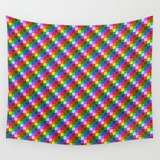 Pixel Static Wall Tapestry