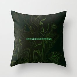 rediscover Throw Pillow