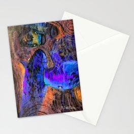 Little Koi Blue Stationery Cards