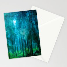 Far from roads #End of the day Stationery Cards