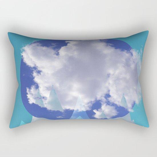 Clouds and Mountains II Rectangular Pillow