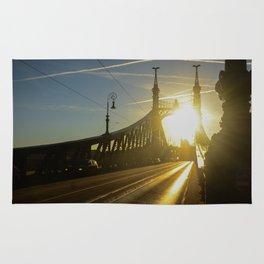Liberty Bridge Sunset Rug