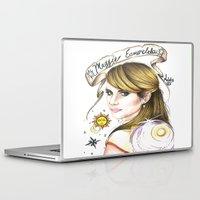 ahs Laptop & iPad Skins featuring Maggie Esmerelda-AHS by MELCHOMM