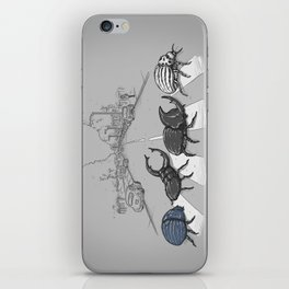 The Beetles iPhone Skin