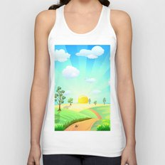 Fabulous Sunshine Unisex Tank Top