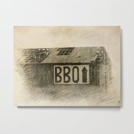 Let's have a BBQ Metal Print