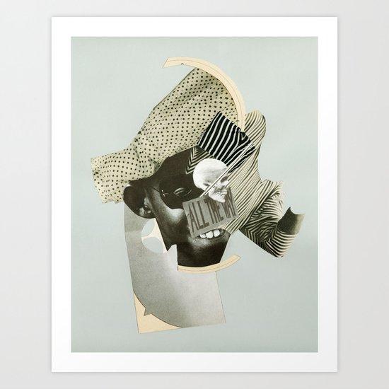 ~All the way~ Art Print