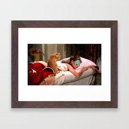 Audrey Hepburn #4 @ Breakfast at Tiffany's Framed Art Print