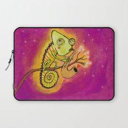 Chameleon in love Laptop Sleeve