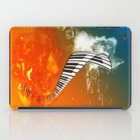 piano iPad Cases featuring Piano by nicky2342