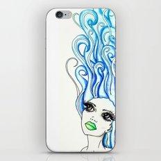 Lady of the Sea iPhone & iPod Skin