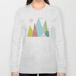 Mountain Peaks! Long Sleeve T-shirt
