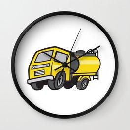 Baby Fuel Tanker Cartoon Wall Clock