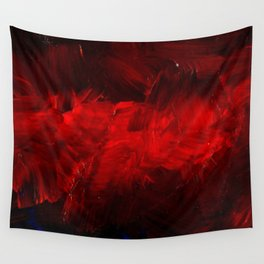 Cool Red Duvet Cover Wall Tapestry