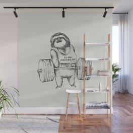 Sloth Lift Wall Mural