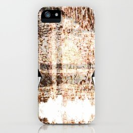 Lamp post wall design iPhone Case